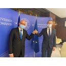Viceprim-ministrul Dan Barna l-a primit astăzi pe Excelența Sa Cord Meier-Klodt, ambasadorul Republicii Federale Germania