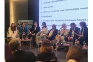 """VPM A. Birchall, la Conferința internațională """"Participarea Copiilor la procesele de luare a deciziilor și de elaborare a politicilor la nivelul UE"""""""