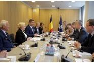 Întrevederea premierului Viorica Dăncilă cu Secretarul General al NATO, Jens Stoltenberg