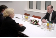 Prime Minister Viorica Dăncilă's tête-à-tête with the Chairman of the European People's Party Group Manfred Weber