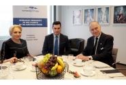 Întrevederea premierului Viorica Dancila cu Ronald Lauder, președintele Congresului Mondial al Evreilor