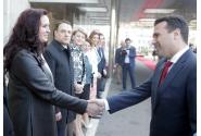 Primirea oficială, de către premierul Viorica Dăncilă, a prim-ministrului Republicii Macedonia de Nord, Zoran Zaev