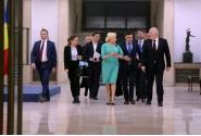 Întâlnirea premierului Viorica Dăncilă cu prim-vicepreședintele Comisiei Europene Frans Timmermans