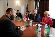 Întrevedere cu Ezra Friedlander, președintele Comisiei de Comemorare a Acordului de Pace de la Camp David între Egipt și Israel