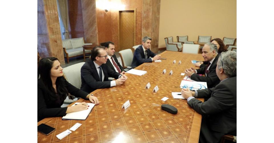 Întrevederea premierului Ludovic Orban cu o delegație a Băncii Mondiale