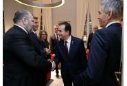 Premierul Ludovic Orban a participat la recepția organizată de Ambasada Germaniei în România, împreună cu reprezentanți ai mediului de afaceri german