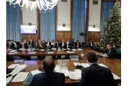 Ședința de guvern - 18 decembrie