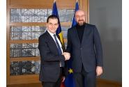 Întrevederea premierului Ludovic Orban cu Charles Michel, președintele Consiliului European