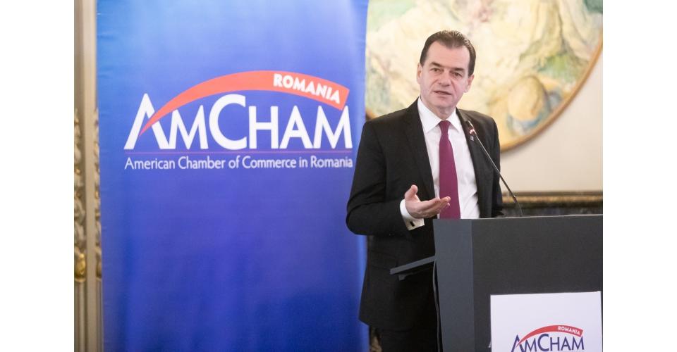 Participarea premierului Ludovic Orban la AMCHAM CEO FORUM