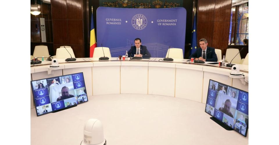 Le Premier ministre Ludovic Orban a participé aux consultations avec des représentants de la(...)