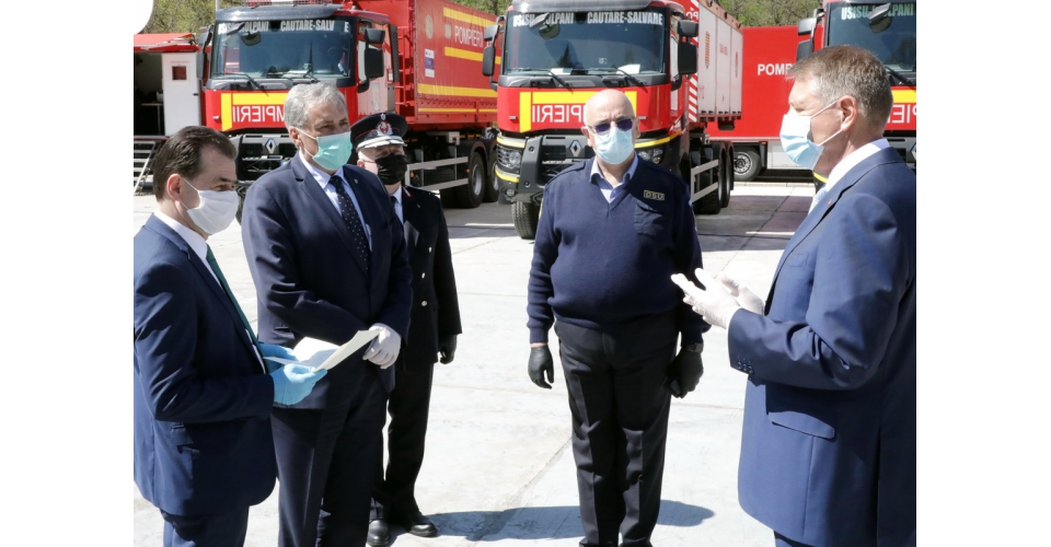 Vizita premierului Ludovic Orban, împreună cu președintele României, Klaus Iohannis, la Centrul(...)