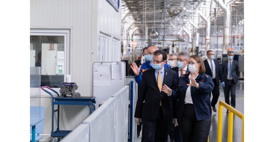 Visite du Premier ministre Ludovic Orban à l'usine Ford Craiova
