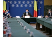 Prime Minister Ludovic Orban attends the meeting with the representatives of the Romanian Association of Banks