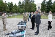 Vizita premierului Ludovic Orban la Comandamentul Forțelor pentru Operații Speciale Târgu Mureș