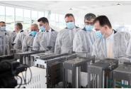 Vizita premierului Ludovic Orban la fabrica Techtex