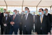 Participarea premierului Ludovic Orban la prezentarea proiectului pentru realizarea unei noi fabrici a Grupului Taparo