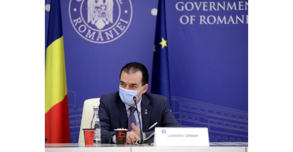 """Întâlnirea premierului Ludovic Orban cu reprezentanții CNS """"Cartel ALFA"""""""
