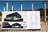 Vizită la șantierul de construcții al Sălii Polivalente, investiție finanțată de CNI