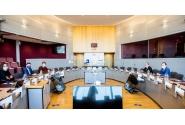 Întrevederea premierului Florin Cîțu cu Valdis Dombrovskis, vicepreședinte executiv al Comisiei Europene