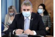 Briefing de presă susținut de premierul Florin Cîțu, ministrul transporturilor și infrastructurii, Cătălin Drulă și ministrul sănătății, Vlad Voiculescu, la finalul ședinței de guvern din 31 martie