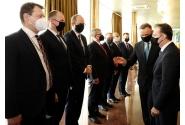 Întrevederea premierului Florin Cîțu cu președintele Republicii Polone, Andrzej Duda, în cadrul unui dejun de lucru