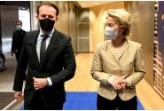 Premierul Florin Cîțu a avut o întrevedere, în cadrul unei cine de lucru, cu președintele Comisiei Europene, Ursula von der Leyen