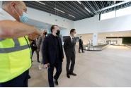 Premierul Florin Cîțu a vizitat noul terminal de sosiri curse externe de la Aeroportul Internațional Traian Vuia din Timișoara
