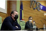 Premierul Florin Cîțu a vizitat Universitatea Politehnica din Timișoara,în contextul sărbătoririi a 100 de ani de la înființarea instituției de învățământ