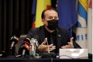 Conferință de presă susținută de premierul Florin Cîțu la sediul Consiliului Județean Timiș