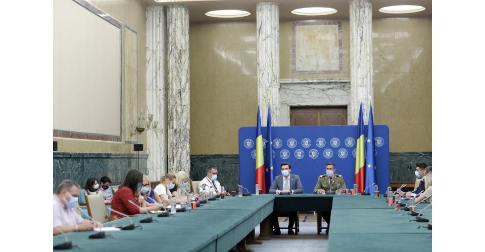 Conferință de presă susținută de Valeriu Gheorghiță, președintele Comitetului național de(...)