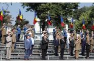 Participarea premierului Florin Cîțu alături de președintele României, Klaus Iohannis, și de ministrul apărării naționale, Nicolae Ciucă, la ceremonia militară prilejuită de încheierea misiunii NATO Resolute Support din Teatrul de Operații din Afganistan