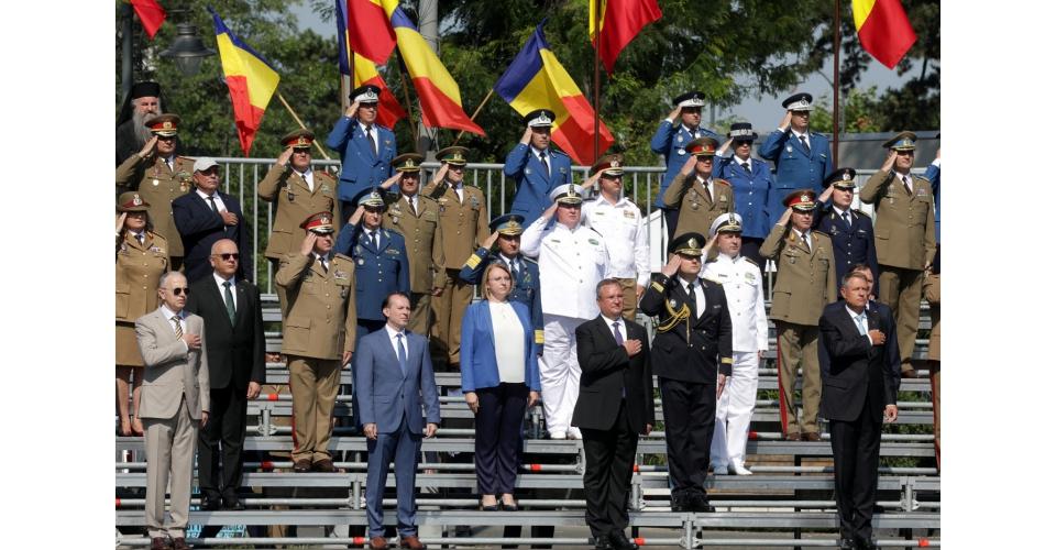Prime Minister Florin Cîțu attended alongside President Klaus Iohannis and Minister of National(...)