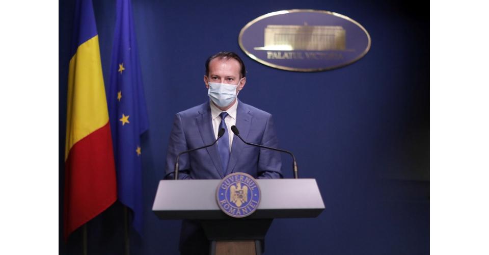 Briefing de presă la finalul ședinței de guvern din 21 iulie, susținut de premierul Florin(...)