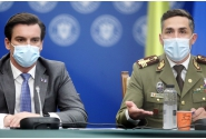 Conferință de presă susținută de Valeriu Gheorghiță, președintele Comitetului național de coordonare a activităților privind vaccinarea împotriva SARS-CoV-2 (CNCAV), și Andrei Baciu, secretar de stat în Ministerul Sănătății, vicepreședinte al CNCAV