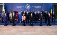 Întâmpinarea președintei Comisiei Europene, Ursula von der Leyen, de către premierul Florin Cîțu