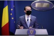 Briefing de presă susținut de premierul Florin Cîțu, la finalul ședinței de guvern din 14 octombrie