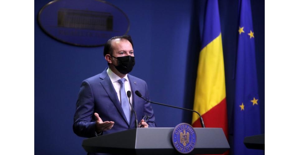 Briefing de presă susținut de premierul Florin Cîțu, la finalul ședinței de guvern din 14(...)