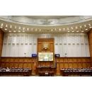 Le Premier ministre Viorica Dăncilă a participé à la réunion solennelle du Parlement(...)