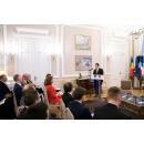 Întrevederea premierului Ludovic Orban cu reprezentanți ai investitorilor francezi, cu participarea ambasadorului Republicii Franceze în România, doamna Michèle Ramis