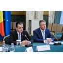 Acting Prime Minister Ludovic Orban's meeting with the President of Romania Klaus Iohannis on the coronavirus situation