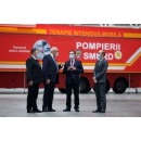 Visite du Premier ministre Ludovic Orban aux unités mobiles ATI