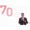 "Prime Minister Ludovic Orban attends the ""Celebrating 70 Years"" event, organised by the(...)"