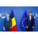 Prime Minister Florin Cîțu meets with Valdis Dombrovskis, Executive Vice - President of the European Commission