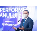 "Prime Minister Florin Cîțu attends the""Performers of the Year 2020"" event organized by the Bucharest Stock Exchange"