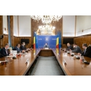 Prime Minister Florin Cîțu attends the meeting of the Inter-ministerial Committee on Romania's(...)