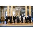 Prime Minister Florin Cîțu attends, alongside President Klaus Iohannis and Minister of National(...)