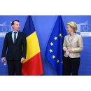Prime Minister Florin Cîțu had a meeting with the President of the European Commission Ursula von der Leyen, as part of a working dinner