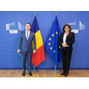 Prime Minister Florin Cîțu meets with the European Commissioner for Transport Adina Vălean