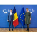 Prime Minister Florin Cîțu meets with European Commission Executive Vice-President Margrethe Vestager