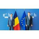 Întrevederea premierului Florin Cîțu cu Valdis Dombrovskis, vicepreședinte executiv al Comisiei(...)